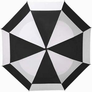 "New Other Bag Boy Golf 2014 62"" Wind Vent Umbrella Black/White BB13853"