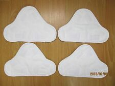 4Pcs Steam Mop Replacement Pads Suitable For X5 H2O H20 Model steam mop
