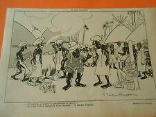 Un Bon cuisinier Anthopophage le garder en réserve Humour Print 1913
