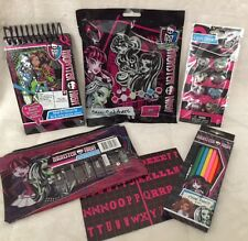 MONSTER HIGH ACTIVITY & STATIONERY BUNDLE *brand new*