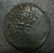 Medieval Billon Silver Coin Lot 900-1100 Ad Crusader Templar Cross Ancient Old
