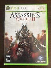 Assassin's Creed 2 II (Microsoft Xbox 360) COMPLETE TESTED