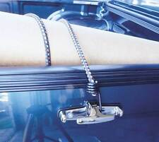 Chrome Ute Tie-Downs - Pair   Run-out sale!   *** Must be sold - RRP $28.60 ***