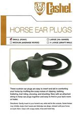 Horse Ear Plugs by Cashel Small Horse Pony Size New Free Shipping