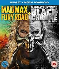 Mad Max Black and Chrome Edition [Blu-ray + Digital Download] [2017], DVD, New,
