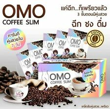 2X OMO Drink Coffee Slim Diet Fit & Firm Zinc Vitamin C Q10 Collagen 10 Sachets