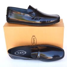 TOD'S Tods New sz UK 12.5 - US 13.5 Designer Mens Drivers Loafers Shoes black