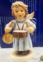 "Goebel Hummel Angel Figurine ""Celestial Drummer"" #2096/C TMK8 WITH ORIGINAL BOX!"