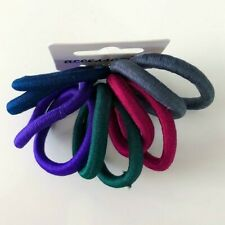 10x Haargummis elastisch Haarzopf Gummiband Zopf