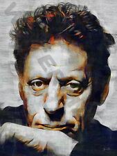 PHILIP GLASS MUSIC COMPOSER ART PRINT POSTER OIL PAINTING LFF0149
