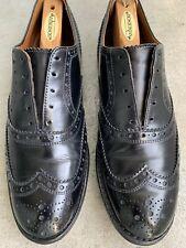 Allen Edmonds Whitney Wing-Tip Lace-Up Oxford black size 10 D