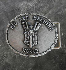 "Hells Angels Support 81 Gürtelschnalle aus Metall ""SUPPORT 81 WORLD"" BIKER"""