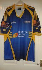 Camicia Da Uomo Rugby League-Doncaster LAKERS-Impact-Home 2006-Blu-XL