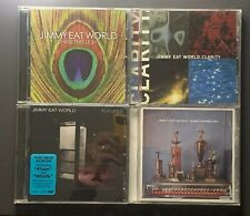 JIMMY EAT WORLD - 4 cd lot - Clarity, Bleed American, Chase This Light, Features