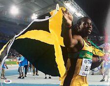 Yohan Blake Jamaica 2012 Olympics Signed 11x14 Photo Psa/Dna X73516