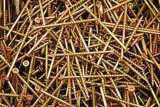 (200) Torx T25 Star Flat Head 10 x 3-1/2 Yellow Zinc Type 17 Outdoor Wood Screw