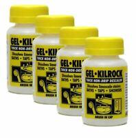4 x Descaler Gel - Kilrock Non-Drip Limescale Remover- Bath Taps Shower 160ml