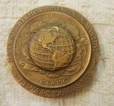 New York World's Fair Medal 300th Anniversary Founding of NYC Medallic Art Co.