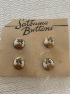 4, Half Inch Small Satsuma Buttons