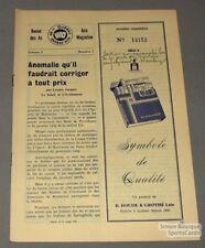 1963-64 AHL Quebec Aces Official Program