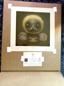 """Mark Ryden """"Bee"""" Limited Edition Lithographic Print Porterhouse Fine Art Edition"""