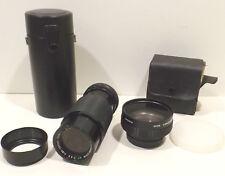 Auto Revuenon-Zoom MC 1:4,5 f=80-200mm Dm.52 + Wide Conv.Lens X0,7 VCL-0752B