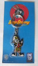 LOONEY TUNES metal keychain on card  BUGS BUNNY from SPAIN  RARE  L@@K