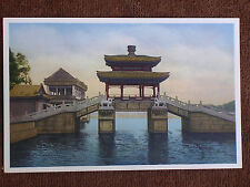 Peking China/Summer Palace Bridge/Librairie Francaise Printed Color Photo PC