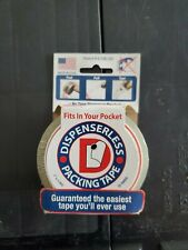 "Dispenserless Packing Tape 2"" X 25 yards"