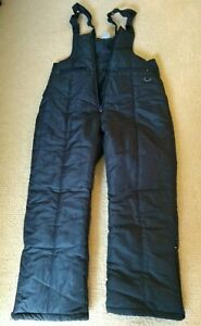 Athletic Works Navy Blue Snow Pants Large - Warn Once