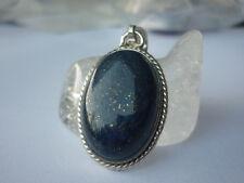 cristalloterapia PENDENTE ARGENTO 925 LAPISLAZZULO pietra gioiello amuleto cielo