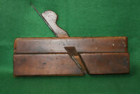 "Antique Vintage A. Mathieson & Son Glasgow 1/4"" Side Bead Molding Plane Inv#EB58"