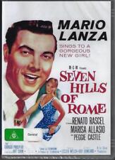 The Seven Hills Of Rome Mario Lanza DVD New and Sealed Australia All Regions