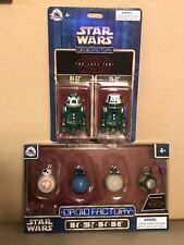 Star Wars The Last Jedi & Disney Parks BB Unit 4 Pack + R4-X2 & Y5-X2 Droid 2 Pk