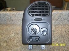 2002 03 04 Oldsmobile Bravada Buick Rainier Headlight Switch With Bezel