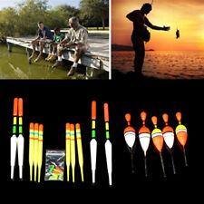 Fishing Lure Floats Bobbers Slip Drift Tube Slip Indicator assorted Sizes 15Pcs