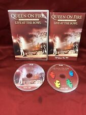 Queen: On Fire - Live at the Bowl (DVD, 2004) USED VGC L⭕️⭕️K