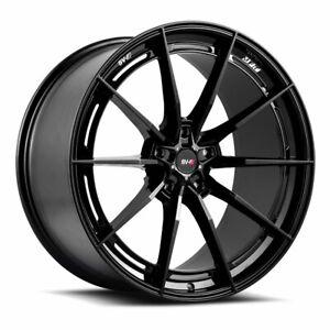 "20"" SAVINI SV-F1 FORGED BLACK CONCAVE WHEELS RIMS FITS NISSAN GTR"