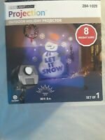 Gimmy Lightshow Projection Outdoor Holiday 8 Holiday Slides Christmas