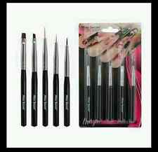 Mia Secret 5 Pcs Professional Nail Art Design Brush Set (NB5P)