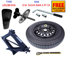 Space Saver Spare Tyre & Wheel with full package for HONDA CIVIC X (2015-2019)