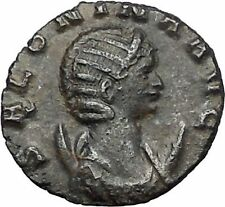 Salonina daughter in law of Valerian I 253AD Ancient Roman Coin Modesty i56397