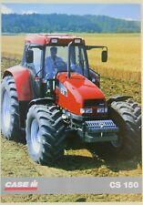 prospectus brochure tracteur CASE IH CS 150 tractor traktor prospekt