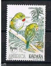Spain  Edifil # 3083 ** MNH Set  Aves / Birds / pajaros