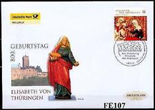 BRD 2007: Heilige Elisabeth! Post-FDC der Nr 2628! Berliner Sonderstempel! 1607