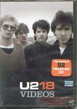 DVD U2 18 VIDEOS SEALED DVD NEW GREATEST HITS BEST