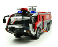 1:50 Aircraft Rescue vehicle Fire-engine Sound Light Model X1 Birthday Xmas Gift