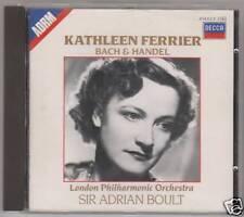 BACH HANDEL SINGS FERRIER    CD