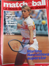 Matchball 13 1982 Martina Navratilova superstar