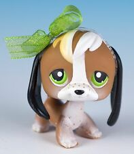 Littlest Pet Shop Beagle #113 Brown and White With Green Eyes